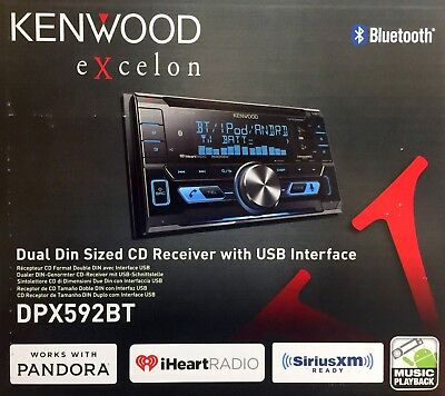 Used, NEW Kenwood DPX592BT Double DIN Bluetooth CD/AM/FM/ Receiver for sale  Shipping to Nigeria