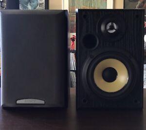 SONY SS-MB150H  Black & Gold MONITOR Speakers Bookshelf