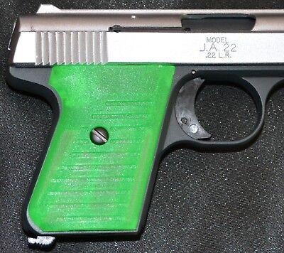 Jimenez JA22 Jennings J22 pistol grips zombie green plastic