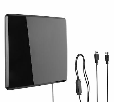 One For All 14432 HDTV Antenna Amplified Indoor Flat TV Ante