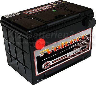 Batería de coche EE.UU. US Batería 12V 70Ah DIN 57010 repuesto 75 80 85 Ah