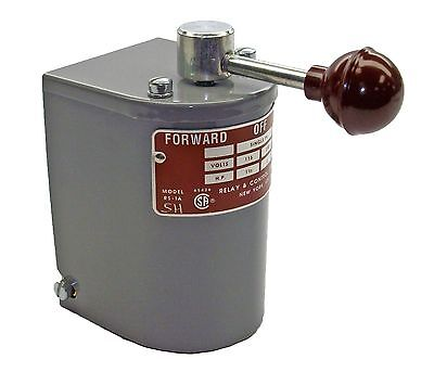1.5 Hp-2 Hp Electric Motor Reversing Drum Switch Single Phase Positionmaintain