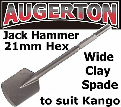 JACK HAMMER SQUARE LONG SERIES CLAY SPADE CHISEL. JACKHAMMER SHOVEL SUIT KANGO for sale  Shipping to United States