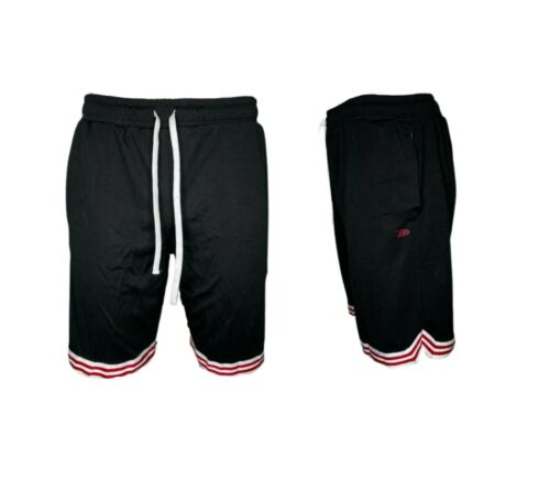 Mens Casual Mesh Shorts Basketball Sports Two Toned Gym Pants Workout Summer