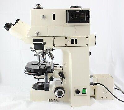 Zeiss Axiophot Transmitted Nomarski Dic Phase Contrast Microscope Trinocular
