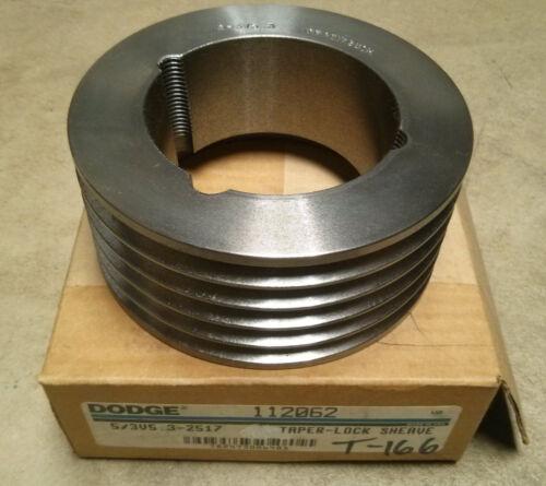 DODGE 5/3V5.3-2517 Taper-Lock Sheave for 3V Belt 53V532517