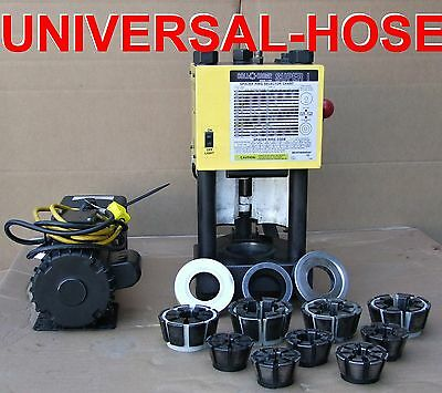 Hydraulic Hose Crimper Machine W Pump Weatherhead T-420