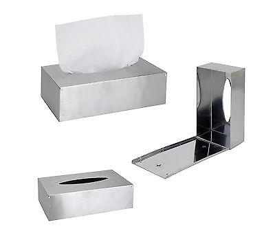 Kosmetiktücherbox Edelstahl Taschentuchspender Kosmetiktücher Taschentuchbox EH