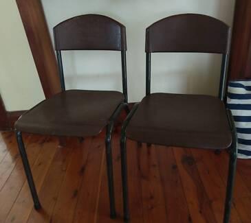 Primary school desk chairs