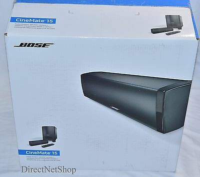 Bose CineMate 15 Home Theater Speaker System  NEW