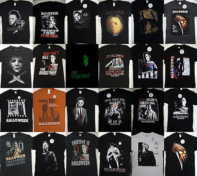 Michael Myers Halloween Horror Movie Boogeyman Licensed T-Shirt - Halloween Michael Myers Movies