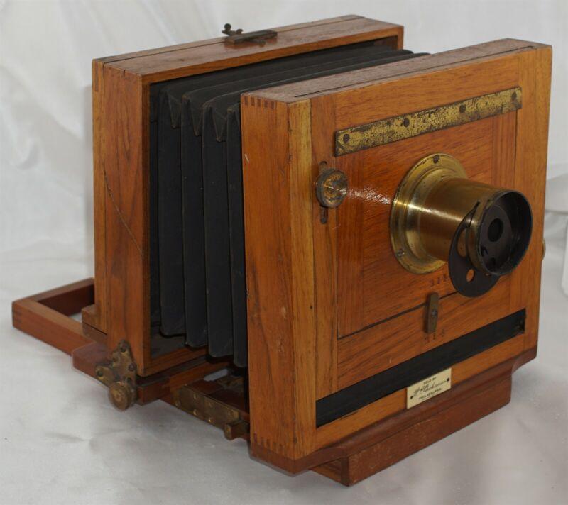 Scovill 5x7 Waterbury View Camera w/ Brass Lens