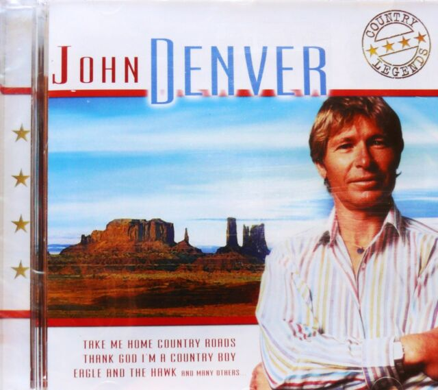 Countrymusik CD: John Denver Trucker Hits Country Musik Highway Songs Rider Road