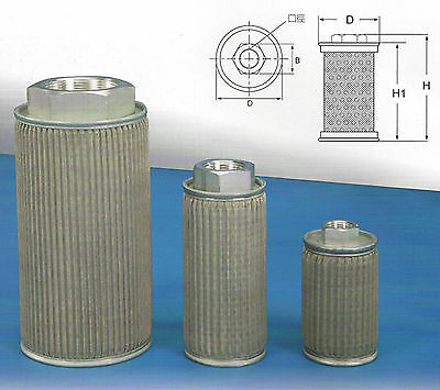 Hydraulic Suction Line Filters Mf Type Mf-08 1 Pt
