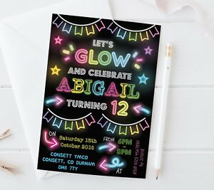 dance party invitations cards stationery ebay