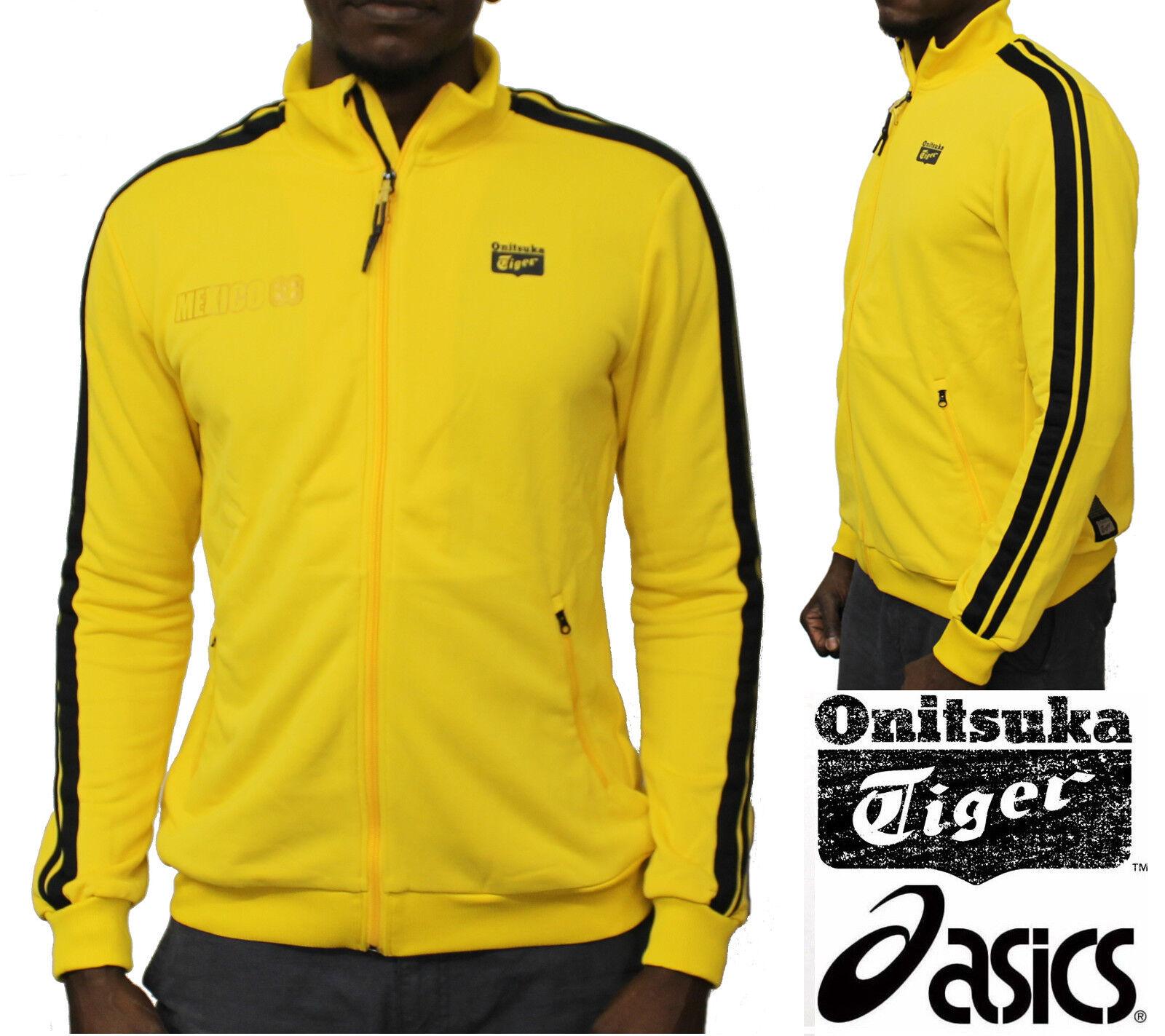 purchase cheap c110e 5b228 Asics Onitsuka Tiger Mexico 66 Track Jacket Retro Kill Bill Style Tracksuit  Tops