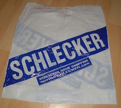 plastiktüte alt schlecker transpar tragetasche kunststoff tüte f.sammler/bastler