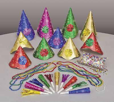 für 10 Personen Hüte Squawkers Geräusche Hersteller (Silvester Party Hüte)
