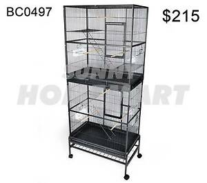 XLarge 187 CM Stand-Alone 2 Level Parrot Aviary Canary Bird Cage Derrimut Brimbank Area Preview
