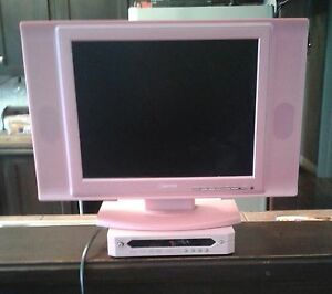 "Girls ""Pink"" LCD TV with ""Pink"" DVD"