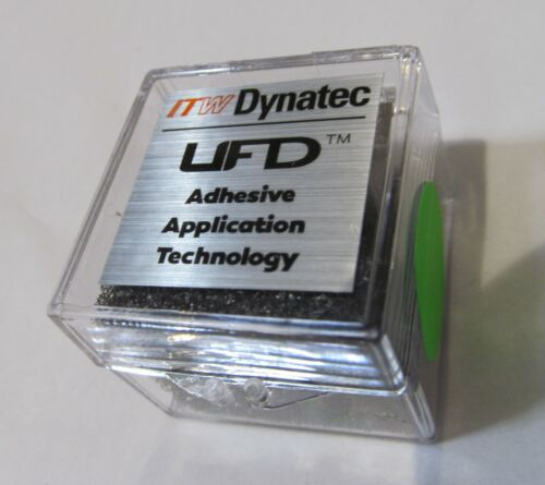 NEW ITW DYNATEC  INDUSTRIAL UFD LINE HOT MELT GLUE SPRAY NOZZLE 117889