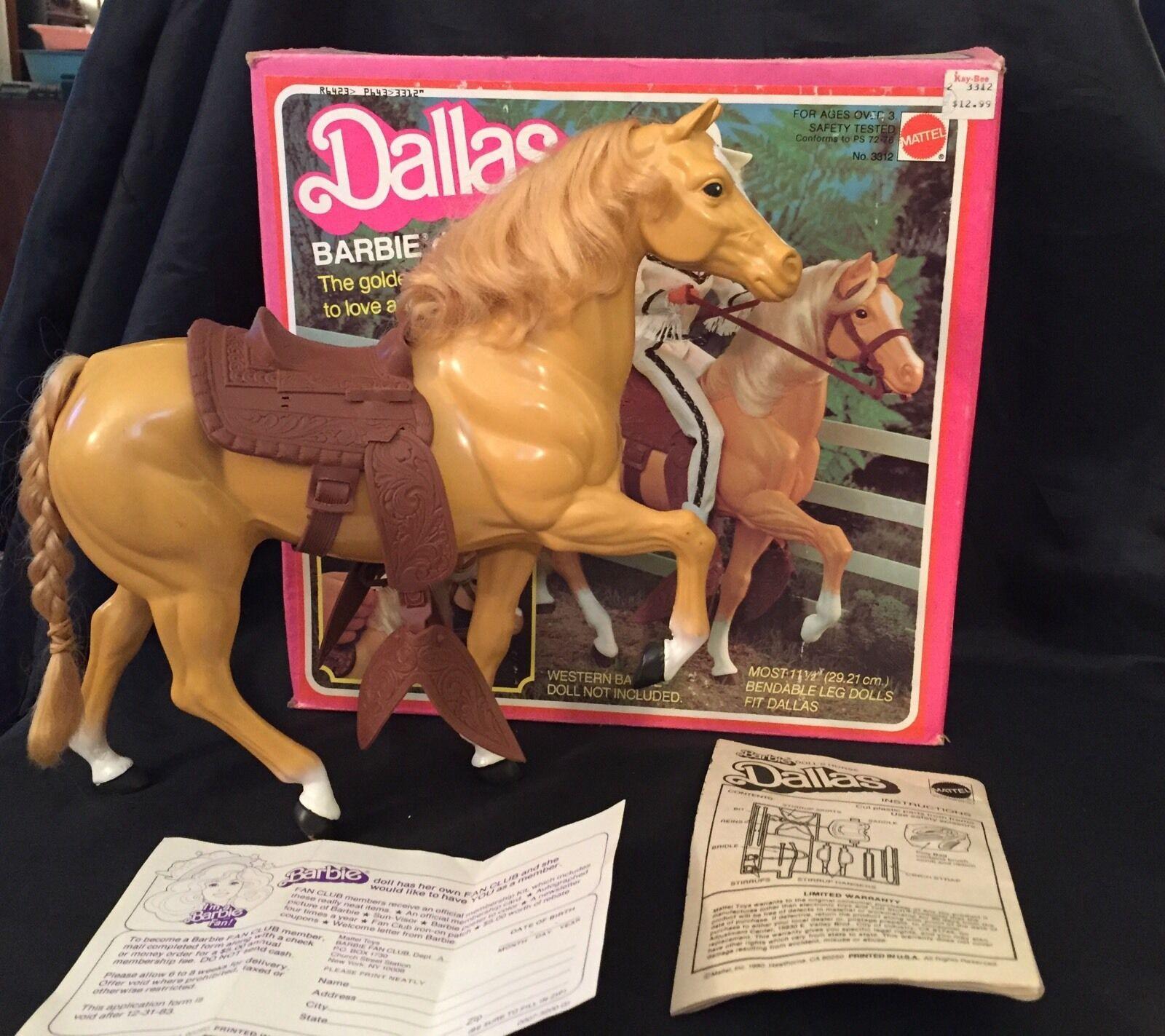 Изображение товара 1980 Barbie doll's horse