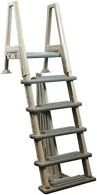 46-56 Inch Confer Above Ground Swimming Pool In-Pool Ladder Deluxe Pool Ladder