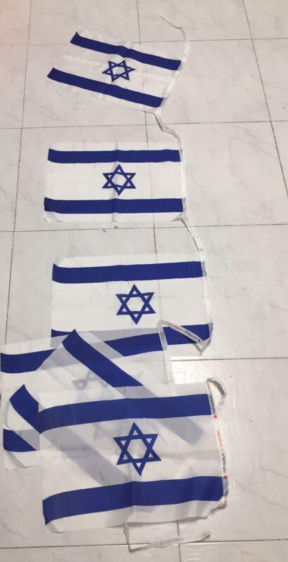 42cmx30   Israel National Flags  Jewish Star Magen David, Decoration , New