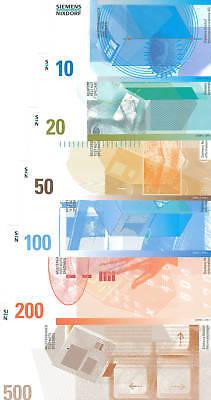 10 DM bis 500 DM  Siemens DM-Testnotensatz