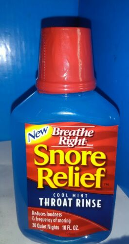 Breathe Right Snore Relief Cool Mint Reduces Loudness & F...