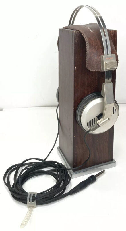 Rare Vintage Hitachi LO-D Samarium Cobalt & Gathered Edge Headphones