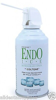 Dental Coltene Hygenic Endo Ice Refrigerant Spray Pulp Vitality 6 Oz. Can H05032