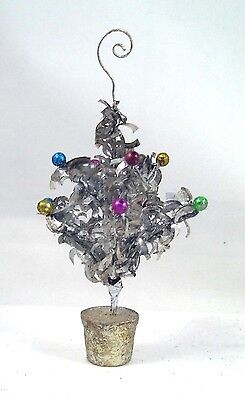 Tinsel Tree Placecard Holders Set Of 4 Boxed Party Decoration Christmas