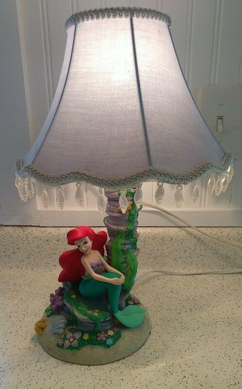 Disney The Little Mermaid Ariel Lamp Light by Hampton Bay - Sea Shell Shade