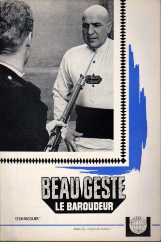 FOREIGN LEGION Telly SAVALAS Doug McLURE Guy STOCKWELL  pressbook BEAU GESTE