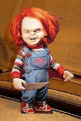 "Chucky ""Child's Play"" Horror Movie Tabletop Display Standee 10 3/4"" Tall"