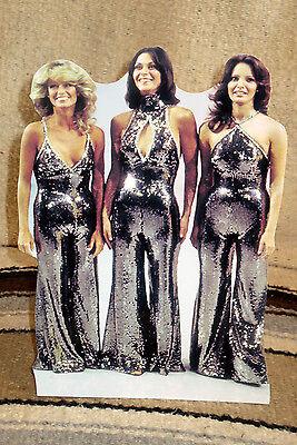 "Charlies Angels 1970's TV Series Tabletop Display Standee 10"" Tall"