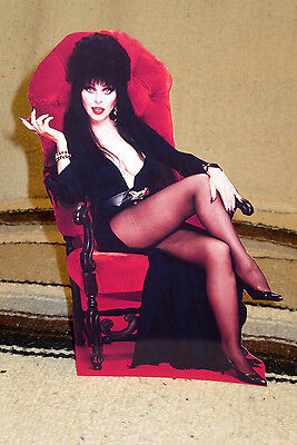 "Elvira ""Mistress of Darkness"" Tabletop Display Standee 10 1/2"" Tall"