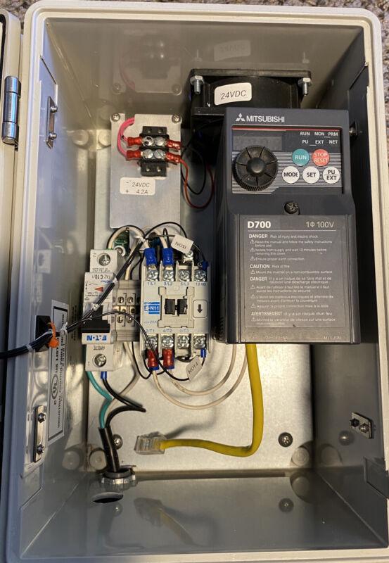 Taig Lathe VFD 3Ph Motor Driver 110V 1Ph - 230v 3ph - 1/2 HP 3 PH