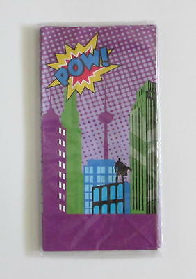 12 Comic Book Superhero Paper Bags Kid Party Goody Loot Gift Treat Favor Supply - Superhero Goodie Bags