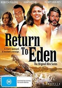 RETURN TO EDEN MINISERIES  ( 2 DISC SET ) NEW AND SEALED REGION 4