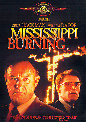 MISSISSIPPI BURNING (DVD, 2001) - NEW DVD