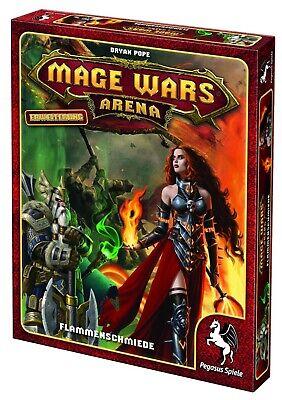Mage Wars Arena * Flammenschmiede (Erweiterung) - Kartenspiel für 2 Spieler