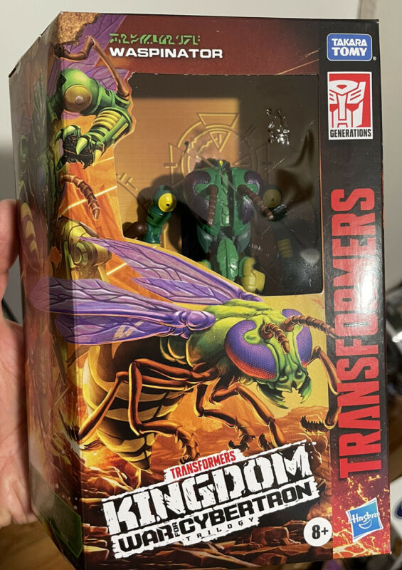 Transformers Generations War for Cybertron Kingdom Waspinator WFC-K34 IN HAND