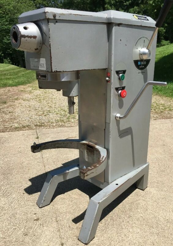 Univex SRM20 Commercial 20Qt Mixer - Variable Speed Countertop Unit