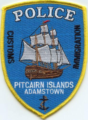 PITCAIRN ISLANDS ADAMSTOWN British Overseas Territory POLICE PATCH