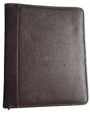 Franklin Quest Plannerbinder Top-grain Verona Leather 12096-157 Usa