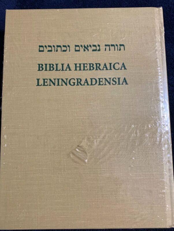 Biblia Hebraica Liningradensia/total En Hebreo