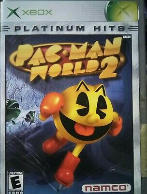 Pac-Man World 2 Platinum Hits  Xbox, 2002) - Complete with manual