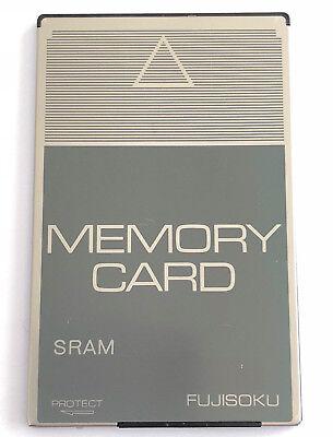 Fujisoku Memory Card Sram 1024 Kbyte Bs1024f1-c 38-pins Sps-peripheriemodule